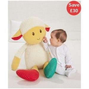 Blossom Farm Woolly Lamb - 64cm was £40 now £10 C+C @ ELC & Mothercare (suitable from Birth