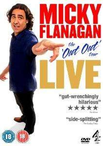 Micky Flanagan Out Out   DVD - best price ever on amazon - £4.74 (Prime) £6.73 (Non Prime)