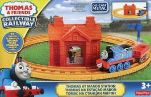 Thomas & Friends Railway - Thomas At Maron Station Die-Cast Train Starter Set £5.98 Del @ Amazon (sold by Bargainmax)