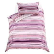 Pink Stripy twin pack Double Bedding set was £24.99 now £9.99 @ Argos