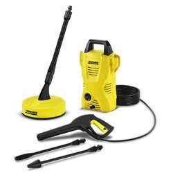 Karcher K2 Compact Refurbished Pressure Washer with T50 Patio Cleaner, Lance and Dirtblaster - £36.94