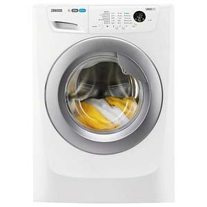 Zanussi Washing Machine, 8kg Load, A+++ Energy Rating, 1400rpm Spin @ John Lewis £279.00