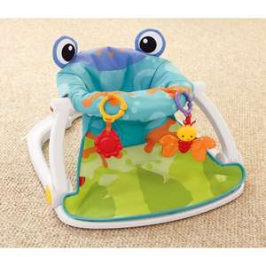 Fisher-Price Rainforest Sit-Me-Up Floor Seat–Frog was £44.99 now £29.99 Del @ Smyths (+others in comments)