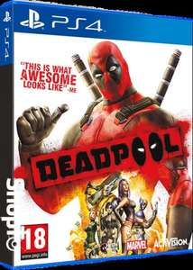 Deadpool PS4 £16.85 delivered from ShopTo