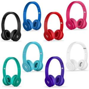 Beats By Dr.Dre Beats Solo HD On-Ear Headphones With Microphone Various Colours - Refurbished - £49.99 - Tesco Outlet