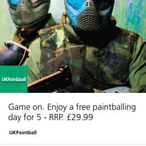Free Paintballing @ UK Painball via O2 Priority