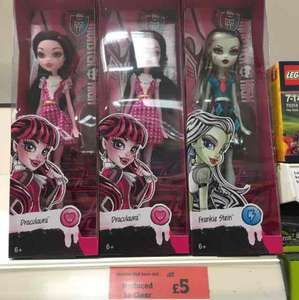 Monster High Dolls £5.00 Sainsburys (In store)