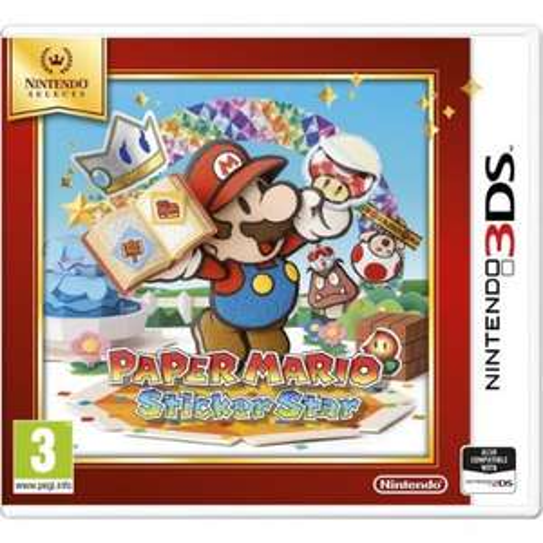 Paper Mario Sticker Star 3DS £12.99 @ Base