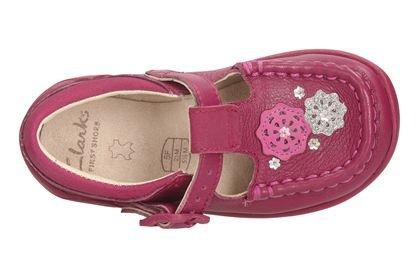 Girls Pink Clarks First Litzy Suzy £10 free c&c @ Clarks