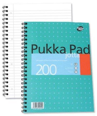 Pukka Pads A4 Metallic Jotta Wirebound Notebook (Pack of 3) @ Amazon £6.75 (Prime) £11.50 (Non-Prime)