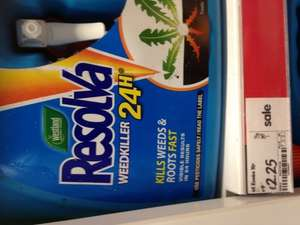 Resolva 3 Litre 24hr Weedkiller Or Path And Patio Weedkiller @ Asda £2.25. Apologies For Pic.
