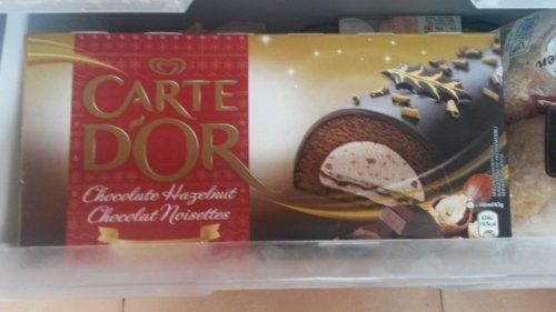 Carte d'or Hazelnut Log Ice Cream 900Ml £1 at Heron Foods