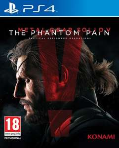 Metal Gear Solid V: The Phantom Pain - Standard Edition (PS4) £15.99 (Prime) / £17.98 (non Prime)  Sold by GenesisBM and Fulfilled by Amazon