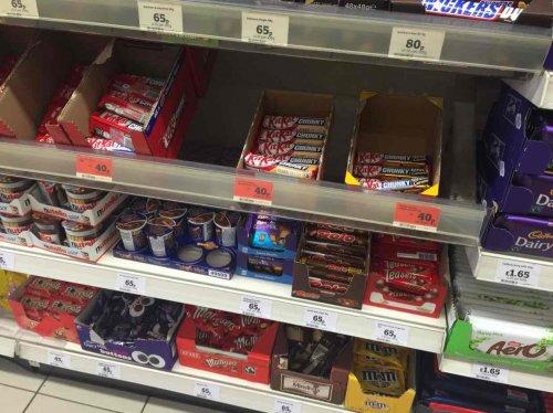 KITKATS 40p Sainsburys