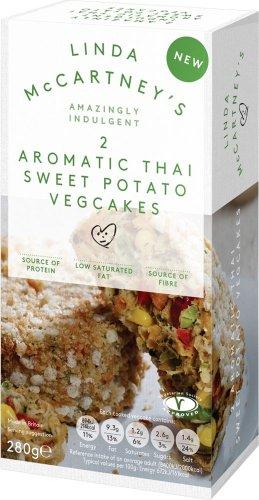 Linda McCartney Thai Vegetable Cakes (280g) was £2.00 now £1.50 @ Tesco