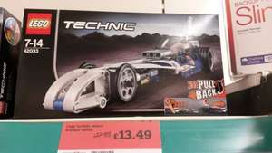 Lego technic record breaker 42033 £13.49 In store @ Sainsbury's Swindon