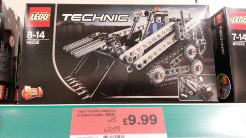 Lego technics compact tracker loader 42032 £9.99 In store @ Sainsbury's Swindon