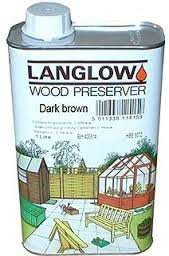 LANGLOW DUAL PURPOSE WOOD PRESERVER 5L £0.50p @ B&M