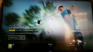 Rory Mcilroy PGA TOUR PS4 game £6.49 @ PSN