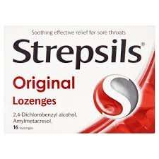 strepsils original lozenges 16 pack 27p Superdrug