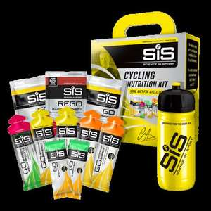 SiS Cycling Nutrition Kit   Direct from SIS - £5 + £3.99 del (was£15) Free 800ml bottle with every order too @ SiS