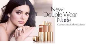 Free 10-day Double Wear Nude Cushion Stick Radiant Makeup sample at Estee Lauder