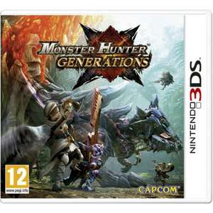 Monster Hunter Generations 3DS for £29.99 @ Zavvi