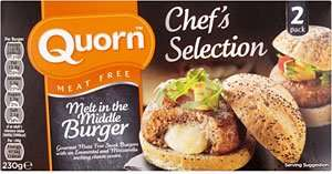 Quorn Chef's Selection Melt in the Middle Burgers £1.19 @ Farmfoods