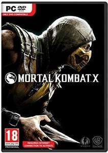 Mortal Kombat X PC ( £3.69 ish with cdkeys 5% fbook code ) £3.89 CDKeys
