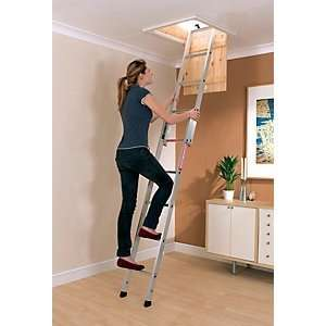 2 section aluminium loft ladder. Was £59.99, now £33.99. 43% off! Online only @ Wickes