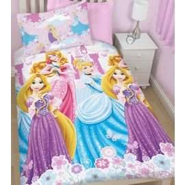 Girls Disney Princess Bedding Set £6 (+£2 C&C) @ Tesco Direct