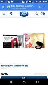 Free gift when you buy two selected No7 cosmetics @ Boots