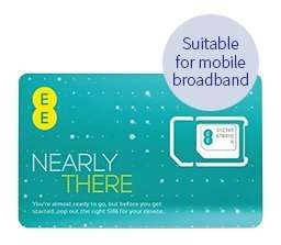 5GB EE PAYG 4G Mobile Boadband Multi Use Data SIM Card (30 Day Validity) £13.99 @ 7DayShop