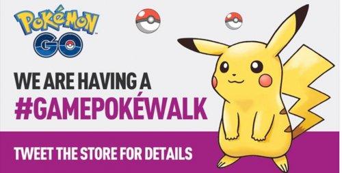 Pokewalks @ Game