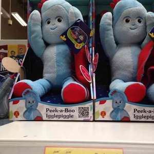 peek a boo igglepiggle in store only £3.95 tesco