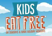 Kids Eat FREE On Sundays Or Bank Holiday Mondays @ Crown Carveries