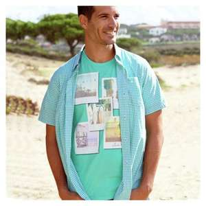 Cherokee Mens Surf Graphic 100% Cotton T-Shirt  All Sizes £2 @ Argos Free C&C