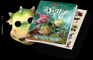 Register to be part of the Nick Jr. Fan Club and receive an exclusive Digby Dragon activity pack in the post