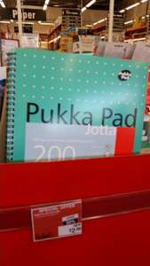 A4 Pukka Pads Wire bound Notebook  £2 @  Staples instore