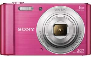 SONY Cyber-shot DSCW810P Compact Camera - Pink £23.97 @ Currys
