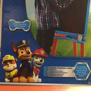 Paw Patrol Floor Easel £8 @ Killingworth morrisons