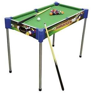 Click and Play 32 Inch Kids 2-in-1 Pool Table half price now £14.99 C+C @ Argos