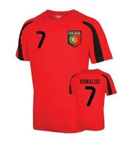 Portugal Sports Training Jersey (ronaldo 7) - Kids UK Soccer Shop £15 + £3.75 delivery