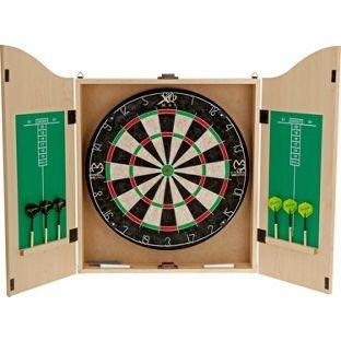 Michael Van Gerwen Dartboard + Cabinet + Darts for £19.99 @ Argos - RRP £39.99