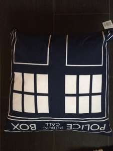 dr who cushion £2.29 @ Home Bargains