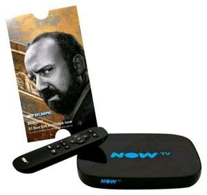 Now TV Smart box (Inc. freeview) with 5 month entertainment or 4 month movie pass £35.99 @ Amazon