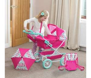 Mamas & Papas Graziella Junior Dolls Pram (was £44.99) Now £29.99 at Argos