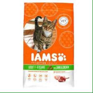 Iams dry cat food 3Kg £7.25 Tesco from 10th