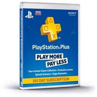 Playstation Plus Years Subscription £29.99 @ Argos