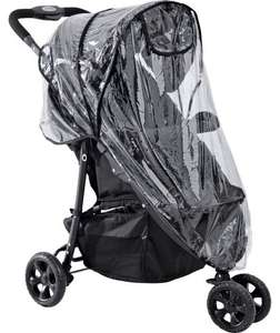 BabyStart 3 Wheeler Pushchair Raincover was £14.99 now £2.99 @ argos